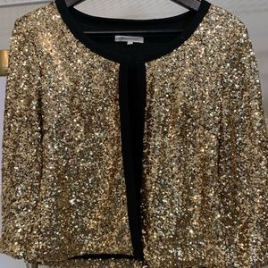 Jackets & Blazers - Sequin cropped jacket